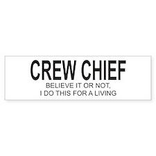 Crew Chief Bumper Bumper Sticker