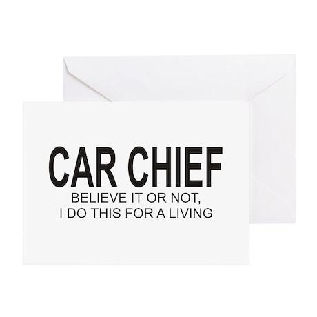 Car Chief Greeting Card