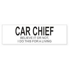Car Chief Bumper Bumper Sticker