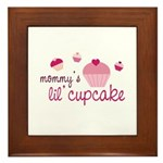 Mommy's Lil' Cupcake Framed Tile