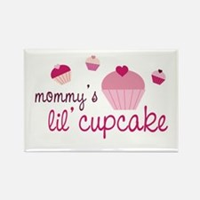 Mommy's Lil' Cupcake Rectangle Magnet (10 pack)