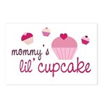 Mommy's Lil' Cupcake Postcards (Package of 8)