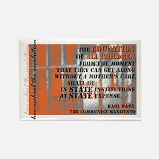 Marxist Education Rectangle Magnet