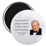 Winston Churchill 21 Magnet