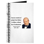 Winston Churchill 21 Journal
