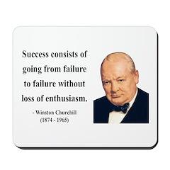 Winston Churchill 21 Mousepad