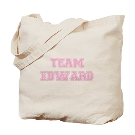 TEAM EDWARD (pink) Tote Bag
