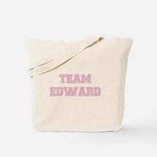 TEAM EDWARD (pink) Tote Bag