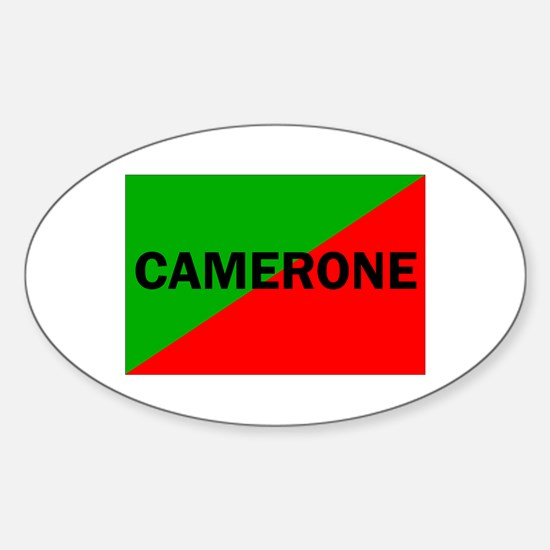 Camerone Oval Decal
