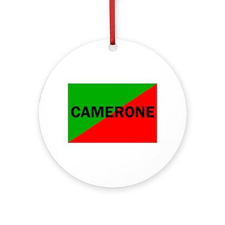 Camerone Ornament (Round)