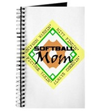 SOFTBALL MOM DIAMOND Journal
