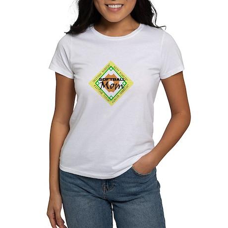 SOFTBALL MOM DIAMOND Women's T-Shirt
