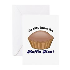 Muffin Man Greeting Cards (Pk of 10)