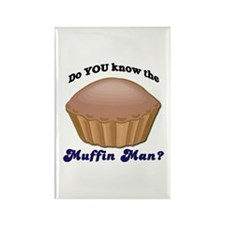 Muffin Man Rectangle Magnet
