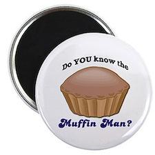 Muffin Man Magnet
