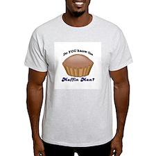 Muffin Man Ash Grey T-Shirt
