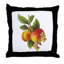 CUSTOM DESIGN-PEACHES-Throw Pillow