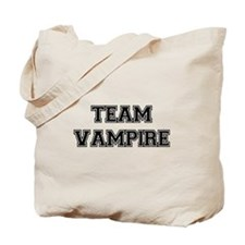 TEAM VAMPIRE (black) Tote Bag