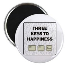 """Happiness 2.25"""" Magnet (10 pack)"""
