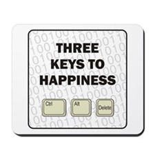 Happiness Mousepad