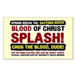 Spring Break Mission Rectangle Sticker 10 pk)