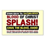 Spring Break Mission Rectangle Sticker