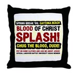 Spring Break Mission Throw Pillow