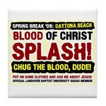 Spring Break Mission Tile Coaster