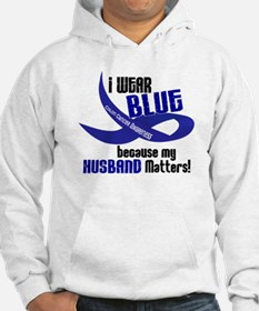 I Wear Blue For My Husband 33 CC Hoodie