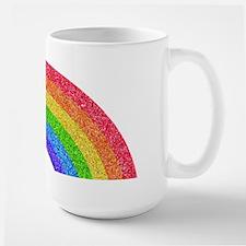 Sparkle Rainbow Large Mug