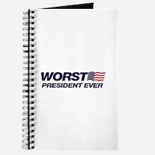 Worst President Ever Journal