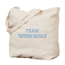 TEAM WEREWOLF (blue) Tote Bag