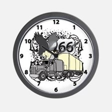 Eagle Trucker Wall Clock