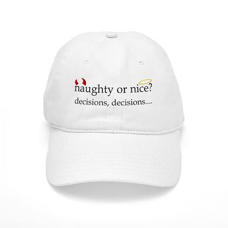Naughty or Nice? Cap