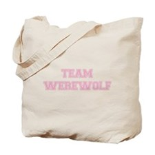 TEAM WEREWOLF (pink) Tote Bag