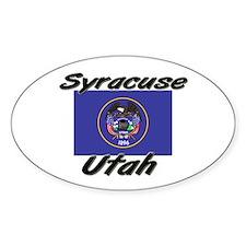 Syracuse Utah Oval Decal