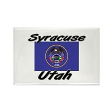 Syracuse Utah Rectangle Magnet