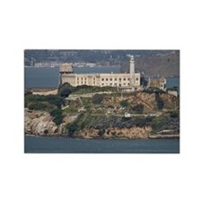 alcatraz island Rectangle Magnet