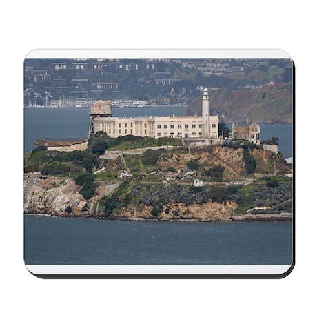 alcatraz island Mousepad
