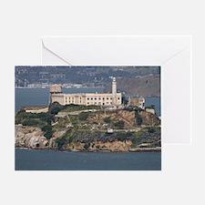 alcatraz island Greeting Card