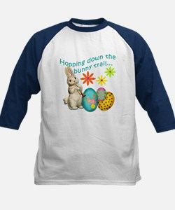 Hopping Down the Bunny Trail Kids Baseball Jersey