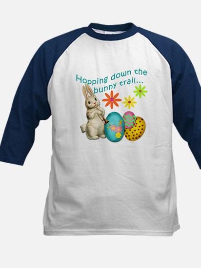 Hopping Down the Bunny Trail Kids Baseball Jersey