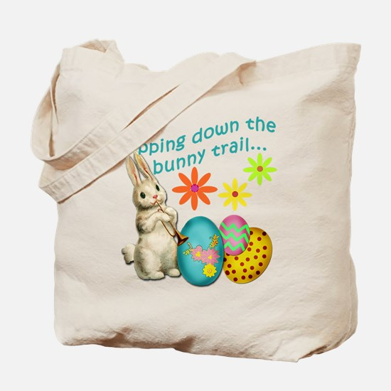 Hopping Down the Bunny Trail Tote Bag
