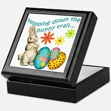 Hopping Down the Bunny Trail Keepsake Box