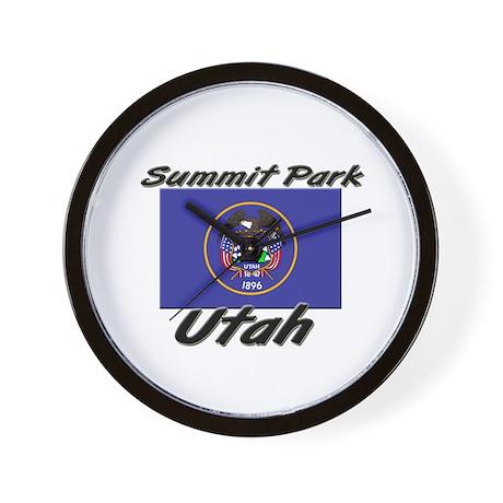 Summit Park Utah Wall Clock