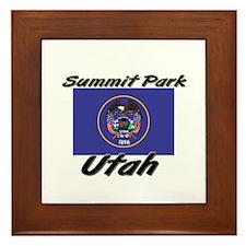 Summit Park Utah Framed Tile