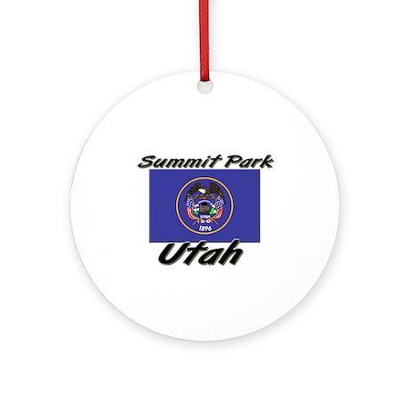 Summit Park Utah Ornament (Round)