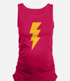 Yellow Flash Lightning Bol Tank Top