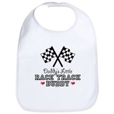 Daddy's Little Race Track Buddy Bib