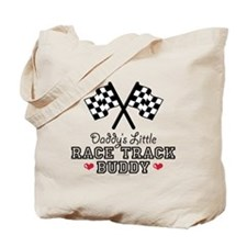 Daddy's Little Race Track Buddy Tote Bag
